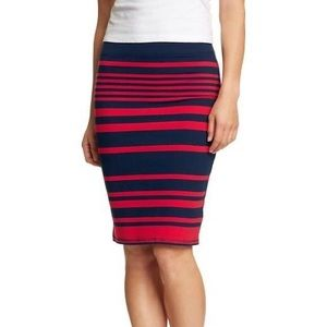 Old navy Stripe Skirt size Small